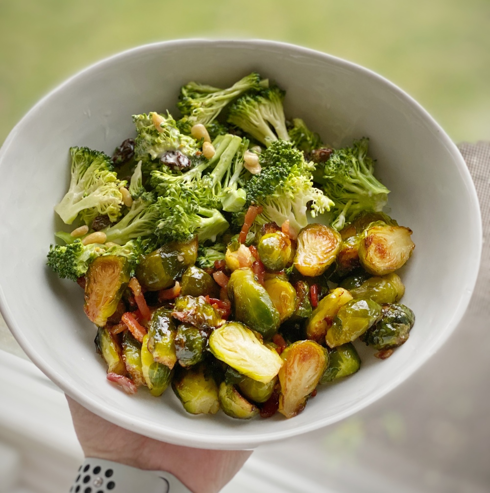 Brussels spouts_brocolli salad