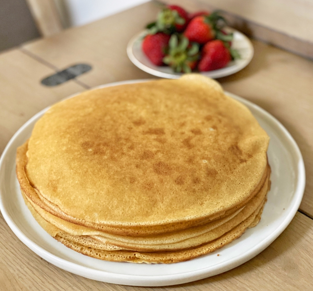 Crepe stack